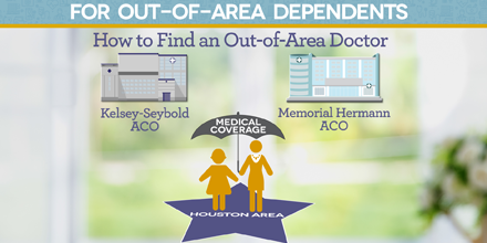 How to Find an Out-of-Area Medical Provider for the Kelsey and Memorial Hermann ACO Medical Plans