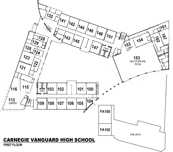 School Information Campus Map
