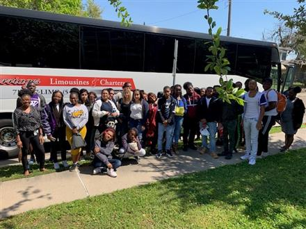 9 -11 Launch Team:  Wheatley High School visits Lamar University