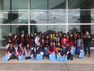 NACAC College Fair - Wisdom HS takes students