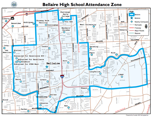 Attendance Boundary Map / Attendance Boundary Map
