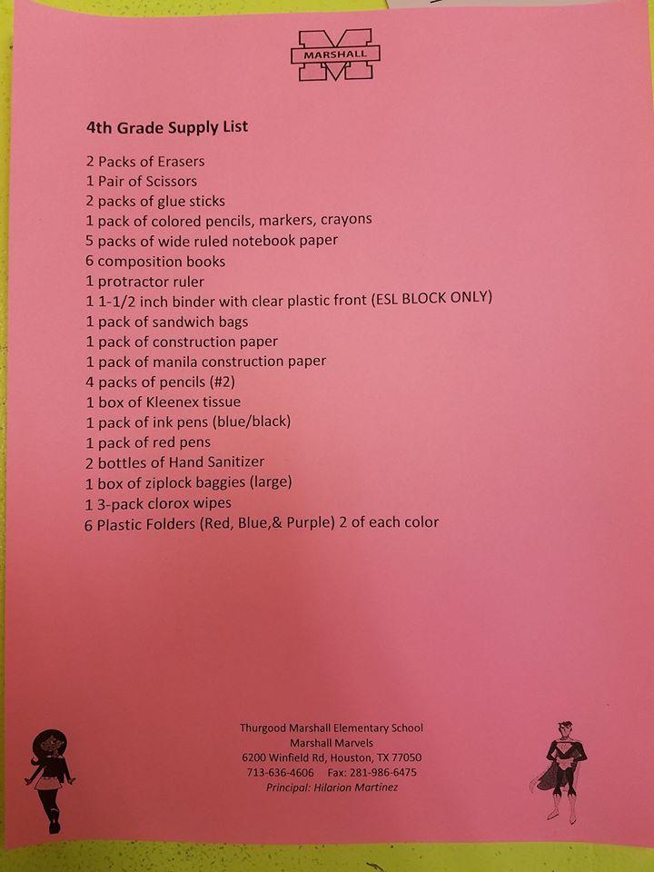 Thurgood Marshall Elementary School Homepage