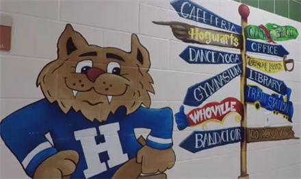 Hilliard Elementary School tour