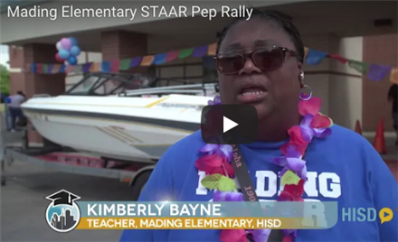 Mading Elementary STAAR Pep Rally