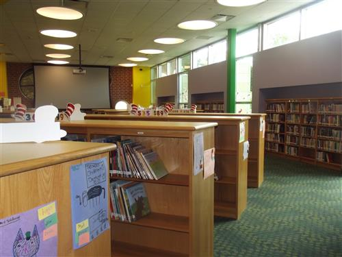 Charles Atherton Elementary School Library