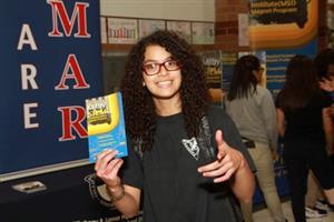 Choosing her Magnet School!