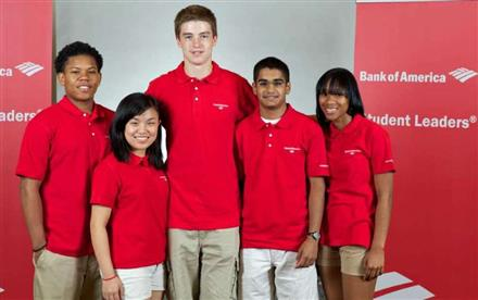 Be a Bank of America student leader