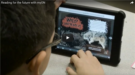Reading for the future with myON