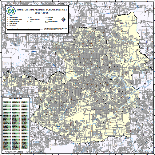 Map Of Texas Isds.Demographics Zoning And District Maps