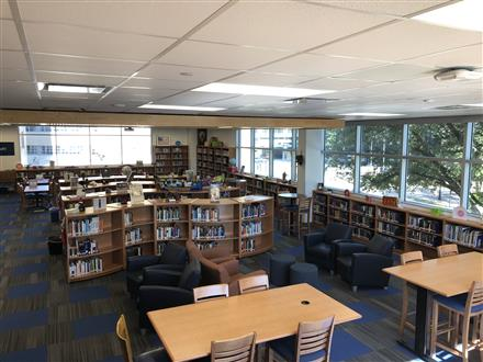PERRY WESTON LIBRARY AT DEBAKEY HIGH SCHOOL