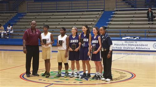 HISD All tournament team 2015