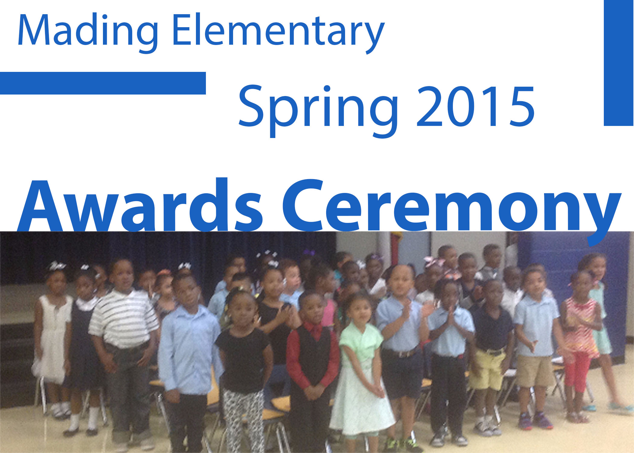 Spring 2015 Awards Ceremony