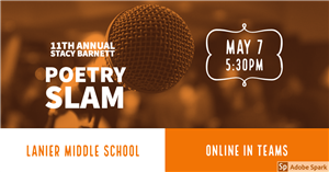 11th Annual Lanier Poetry Slam Videos
