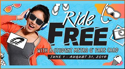 METRO Pass Offers Students Free Rides All Summer Long