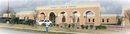 Pilgrim Academy front of building