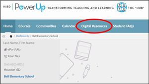 digital resources HISD
