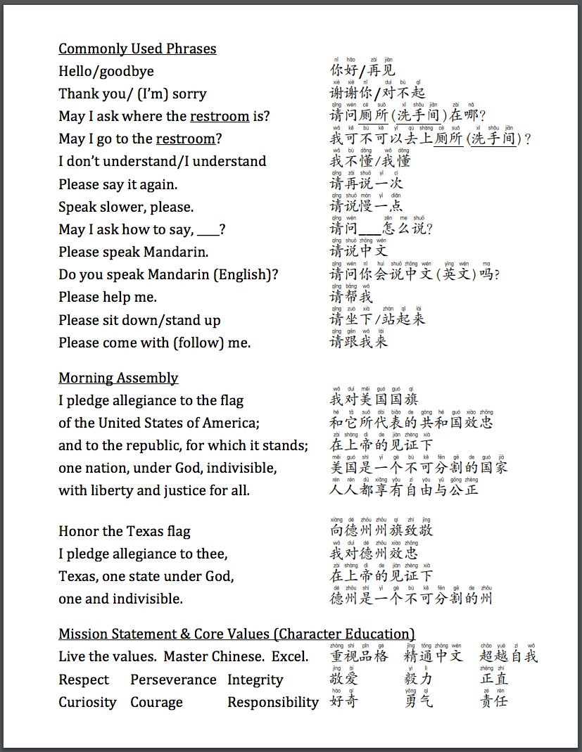 Parent Resources / Chinese for Parents!