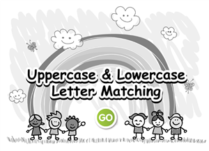 Uppercase and Lowecase Letter Matching