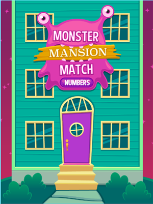Monster Mansion Match Numbers