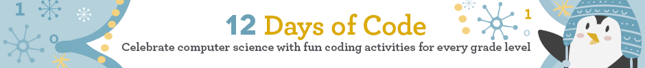 Click here to participate in the 12 Days of Code