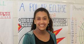 Westside student Bianca Druad