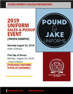 Uniform Sales and Pickup Event