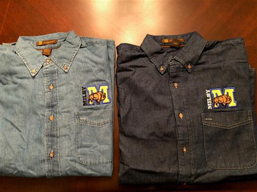 Milby Denim shirts
