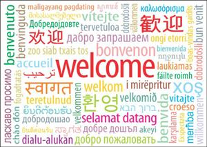 Welcome from Around the World