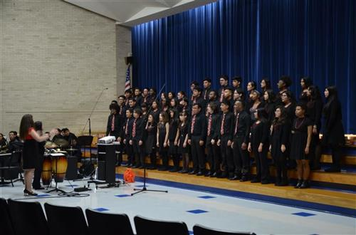 Choir Performance at SIS