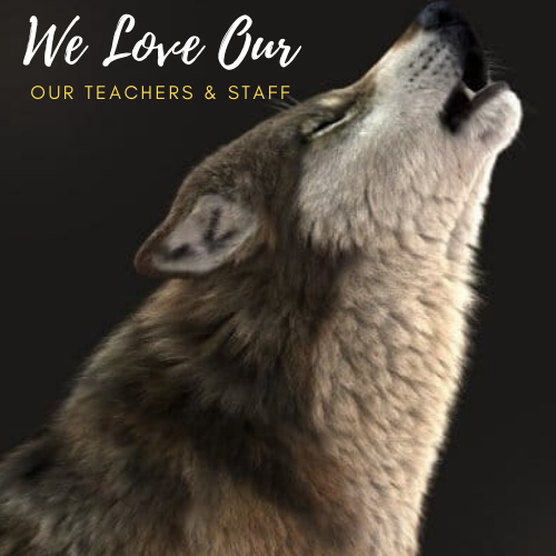 We love our teachers and staff