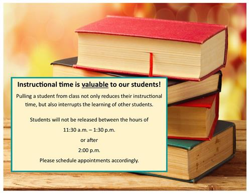 Student Release Notice