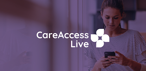woman using careaccess live