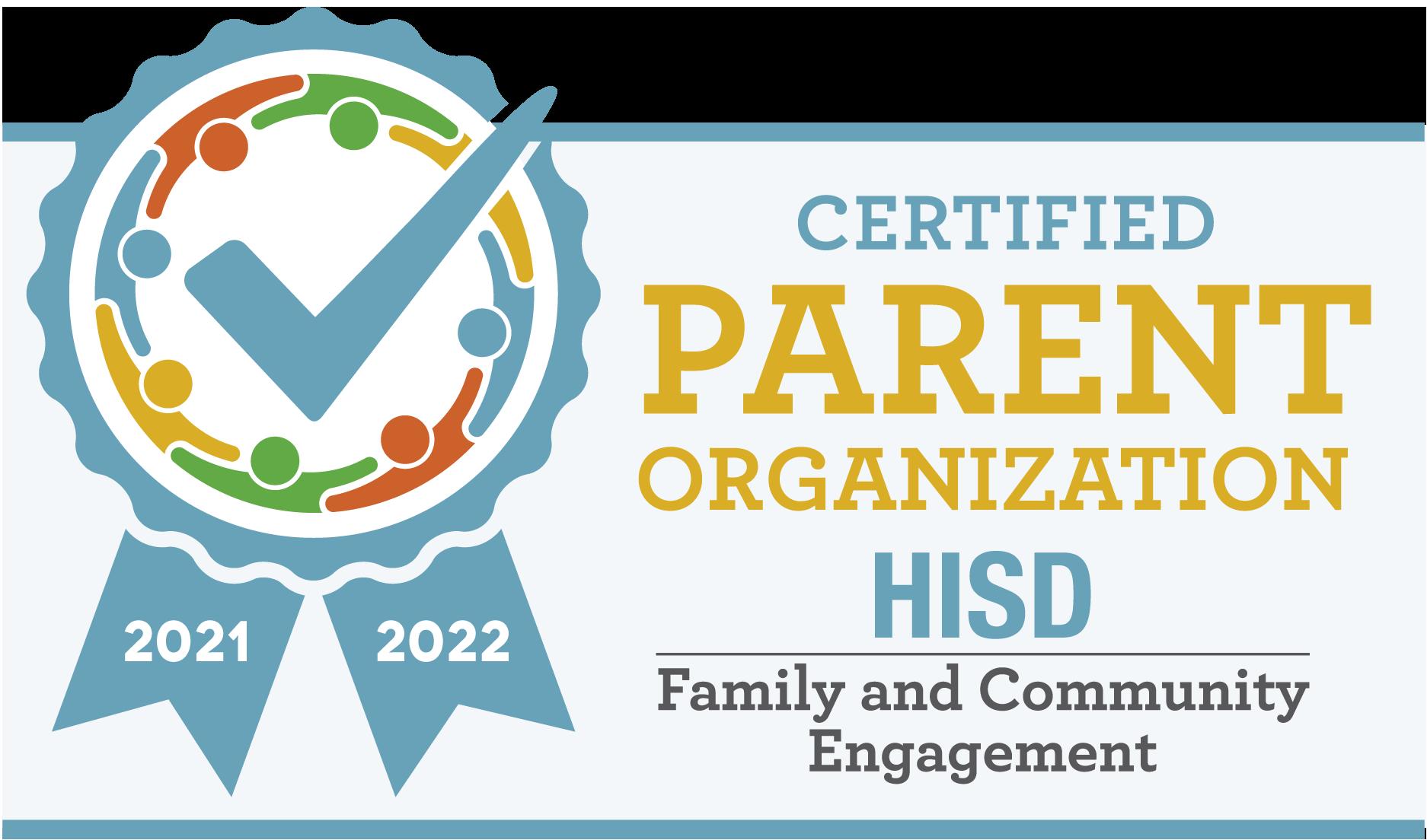 Certified Parent Organization