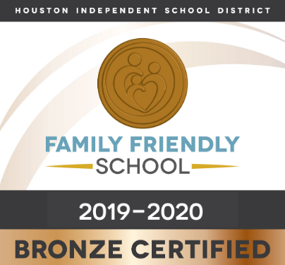 This campus is a Bronze Certified Family Friendly School