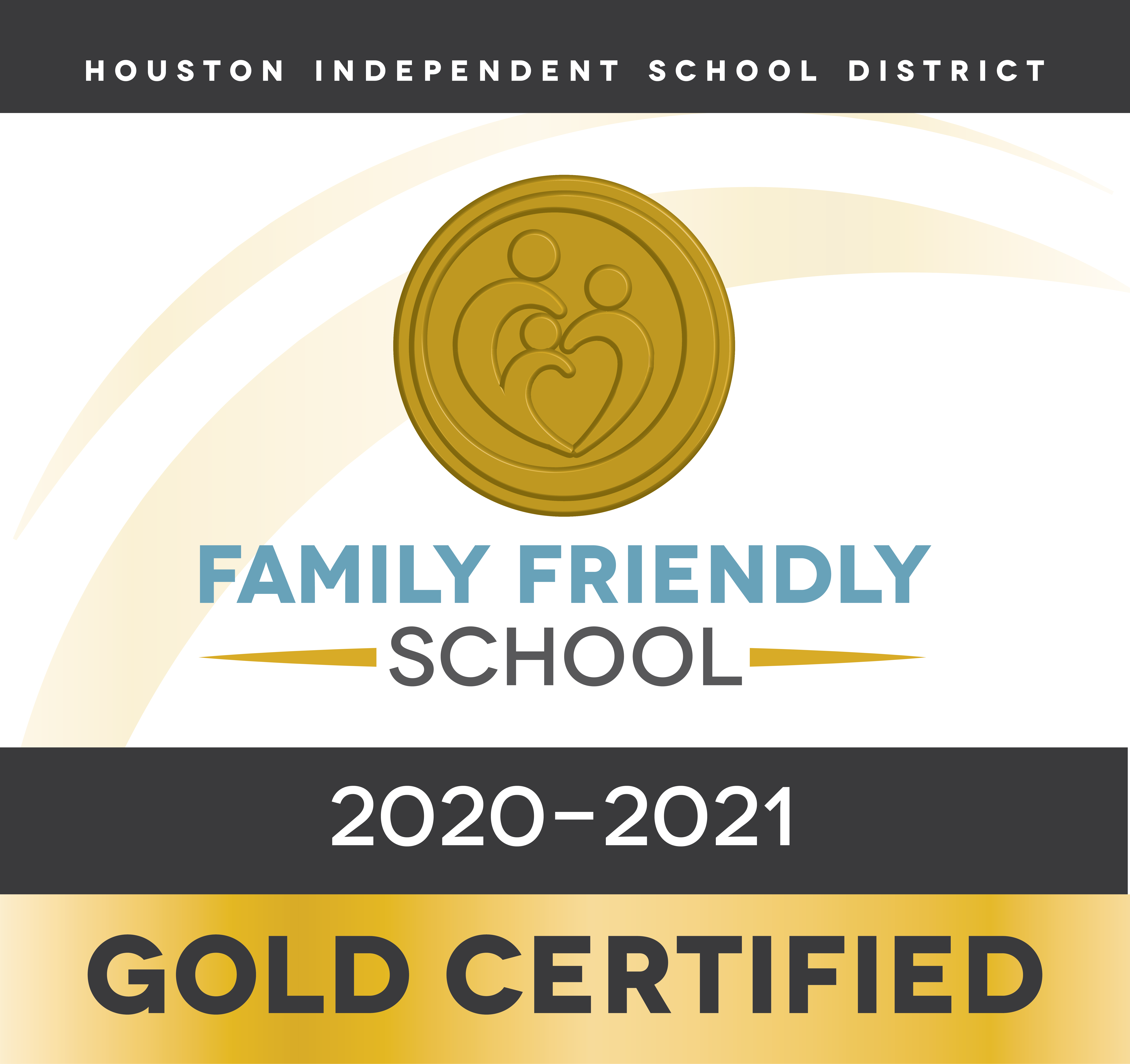 This campus is a Gold Certified Family Friendly School