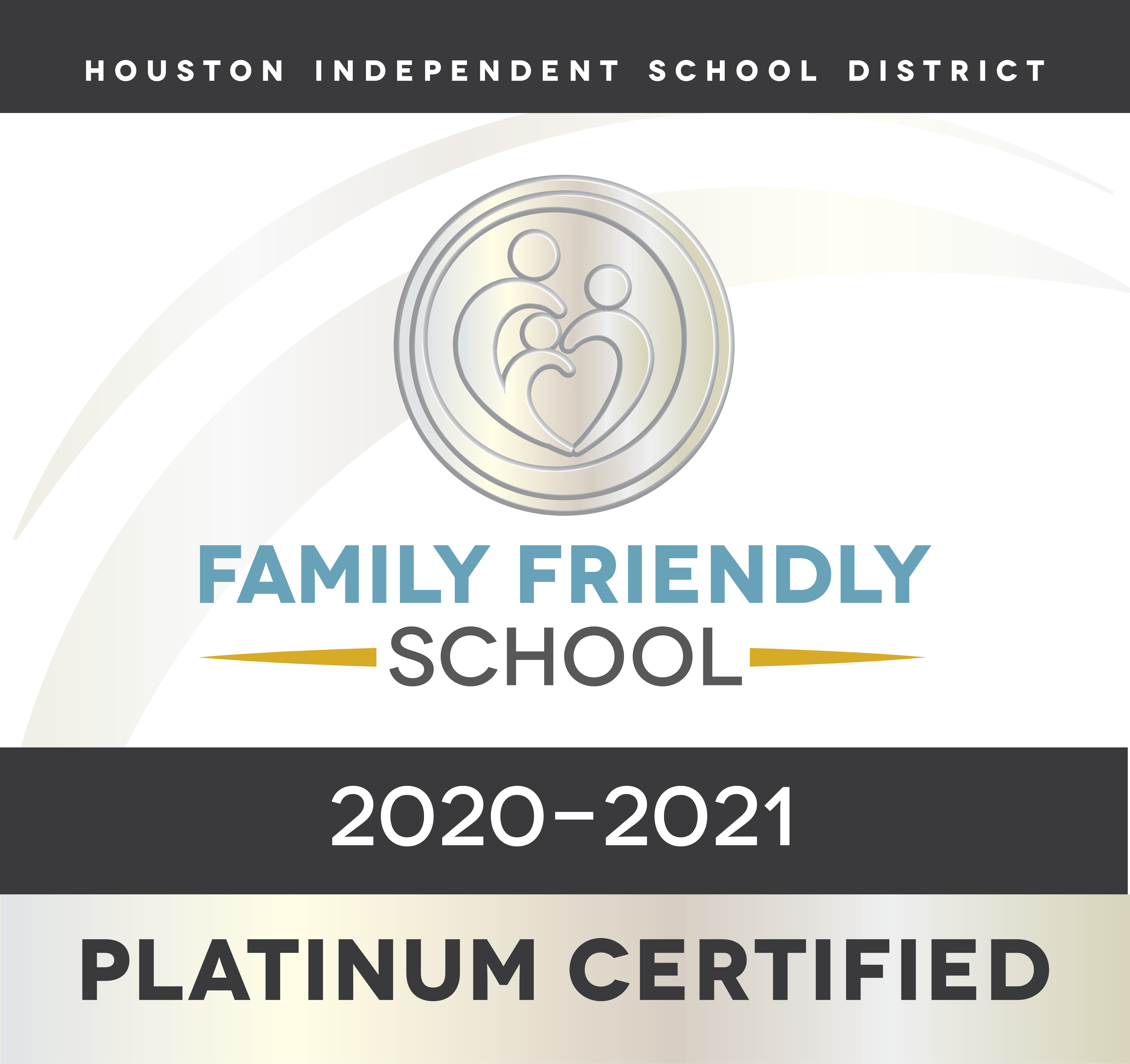 This campus is a Platinum Certified Family Friendly School