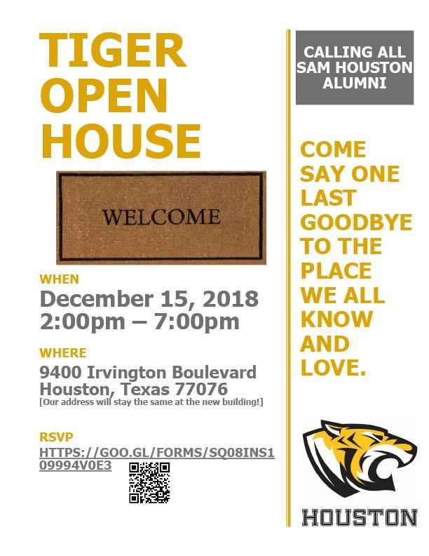 Tiger Open House Info