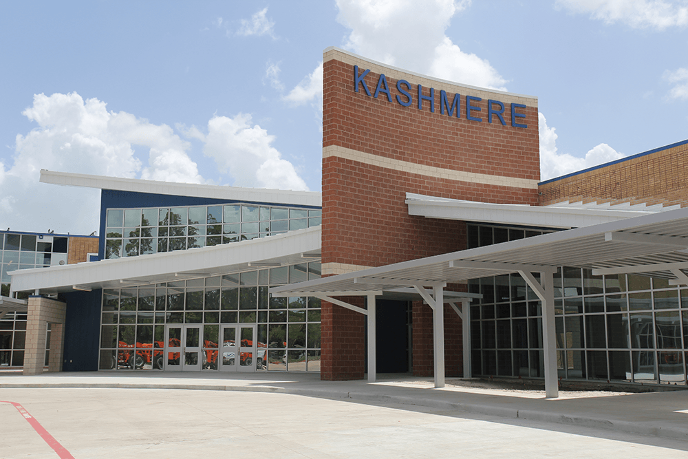 Kashmere High School facade
