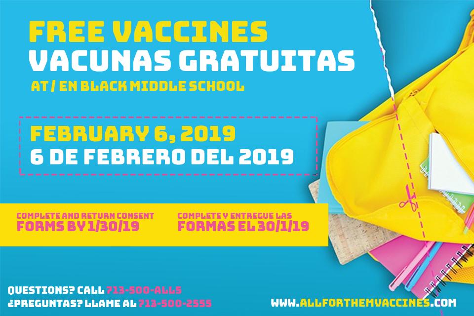 free vaccines vacunas gratuitas
