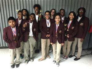 Cullen MS UIL academic team winners