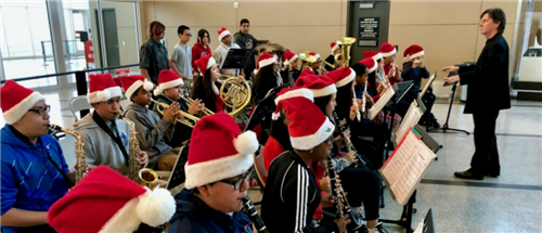 Deady Band Performance @ Hobby Airport