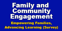 Family and Community Engagement (Survey)