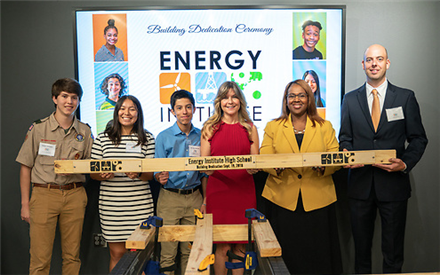 Energy Institute HS celebrates grand opening of new facility