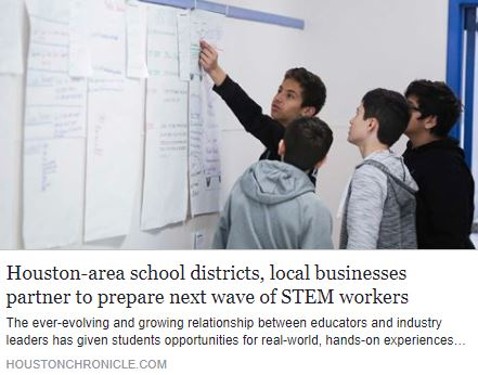 Houston-area school districts, local businesses partner to prepare next wave of STEM workers