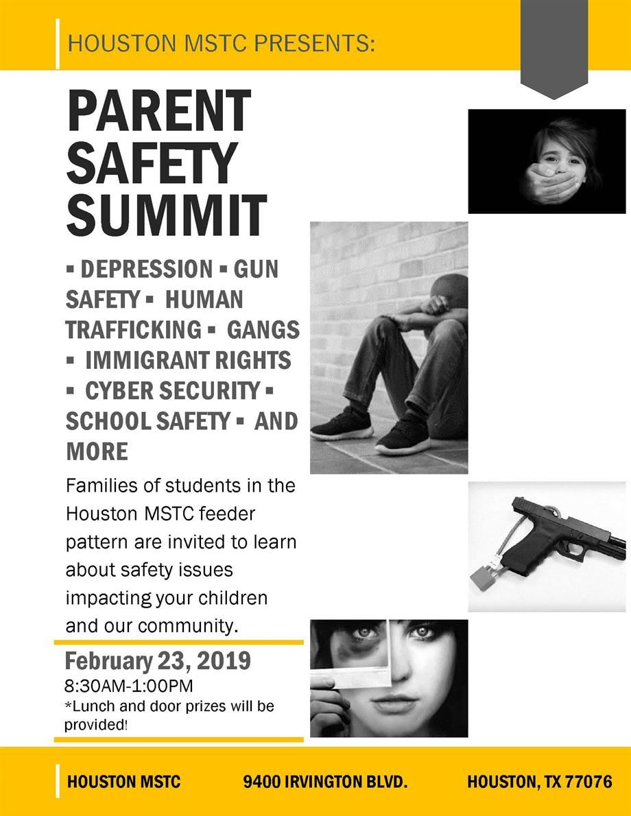 Safety Summit Poster