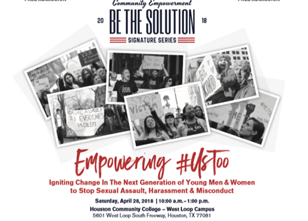 Empowering #UsToo: Igniting Change in the Next Generation to Stop Sexual Assault, Harassment & Misconduct