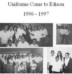 Edison Uniforms 1996