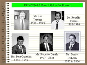 Edison Principals After 1990
