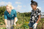 Nutrition education dietitian growing more than just food with school garden program