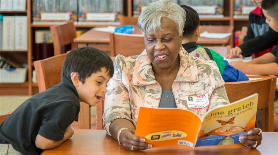 Image result for senior citizens volunteering in schools